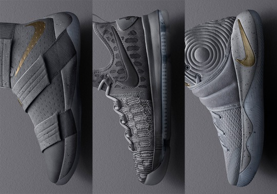 "Nike Basketball's ""Battle Grey"" Collection Releases This Weekend"