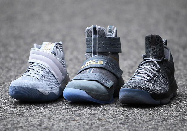 new style a4c3b c5cc4 Nike Basketball Battle Grey Pack Release Date Info ...