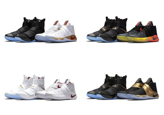 "Nike Basketball Releasing The ""Four Wins"" Pack In Europe Starting Tomorrow"
