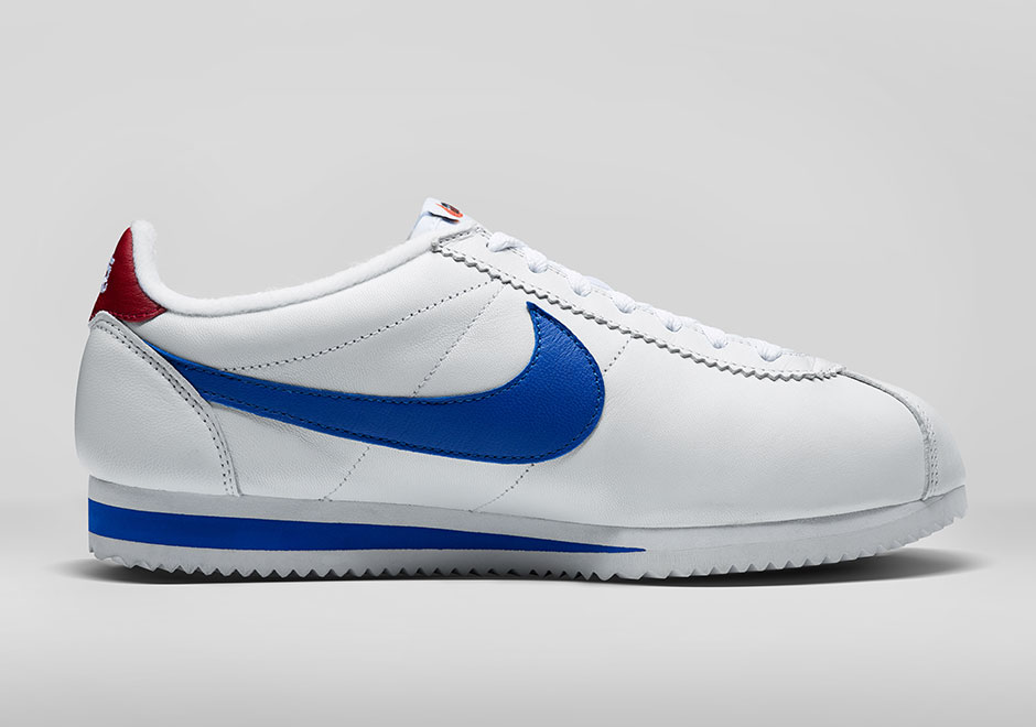 Nike Cortez Leather Red White Blue