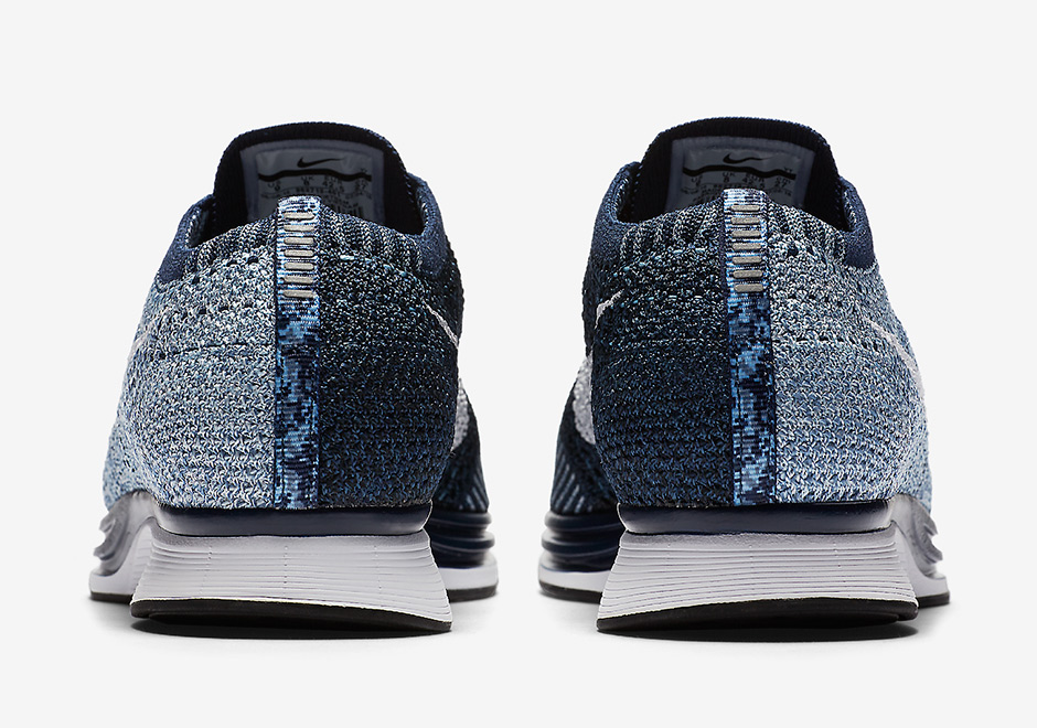 premium selection 02a90 3f1a8 Nike Flyknit Racer Blue Tint 862713-401  SneakerNews.com