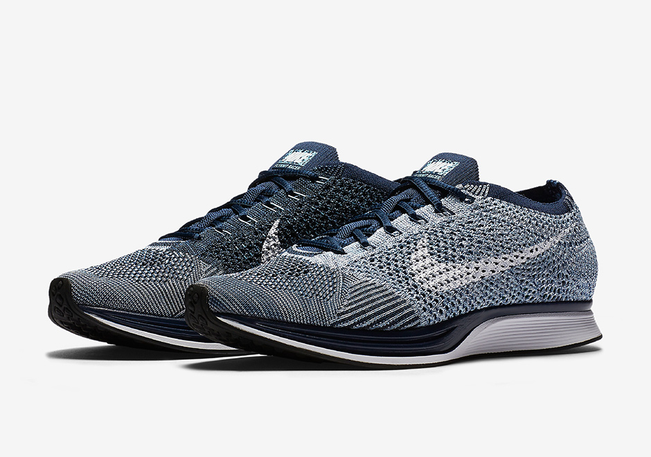 ef973341ab54c Nike Flyknit Racer Blue Tint 862713-401