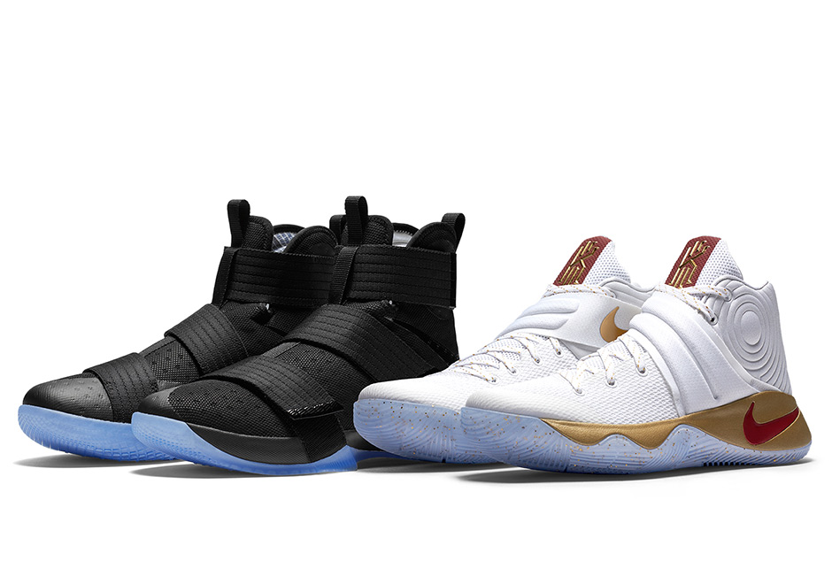 """Store List For The Nike LeBron/Kyrie Championship """"Four Wins"""" Game 3 Pack"""