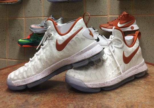 Texas Reveals Nike KD 9 PE For New Season