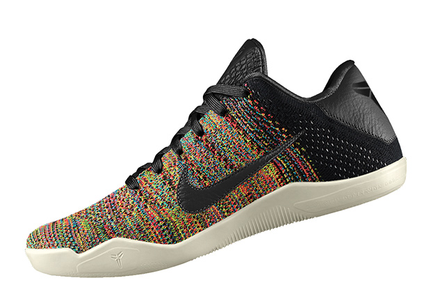 Are you excited about the latest Kobe option? Customize your Kobe 11 Elite  Multi Color pair today before the stock runs out via NIKEiD.