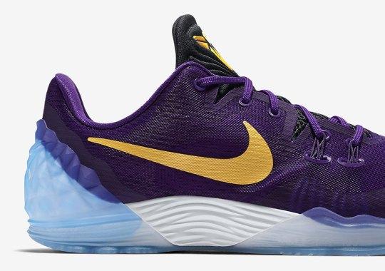 The Nike Kobe Venomenon 5 Embraces Classic Lakers Colors