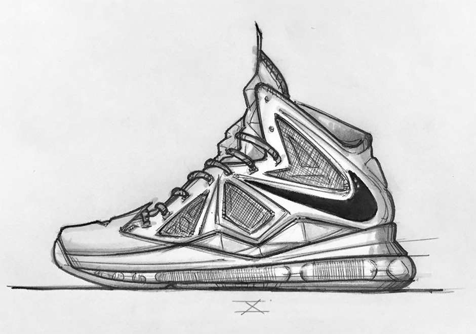 Basketball Shoes Drawling