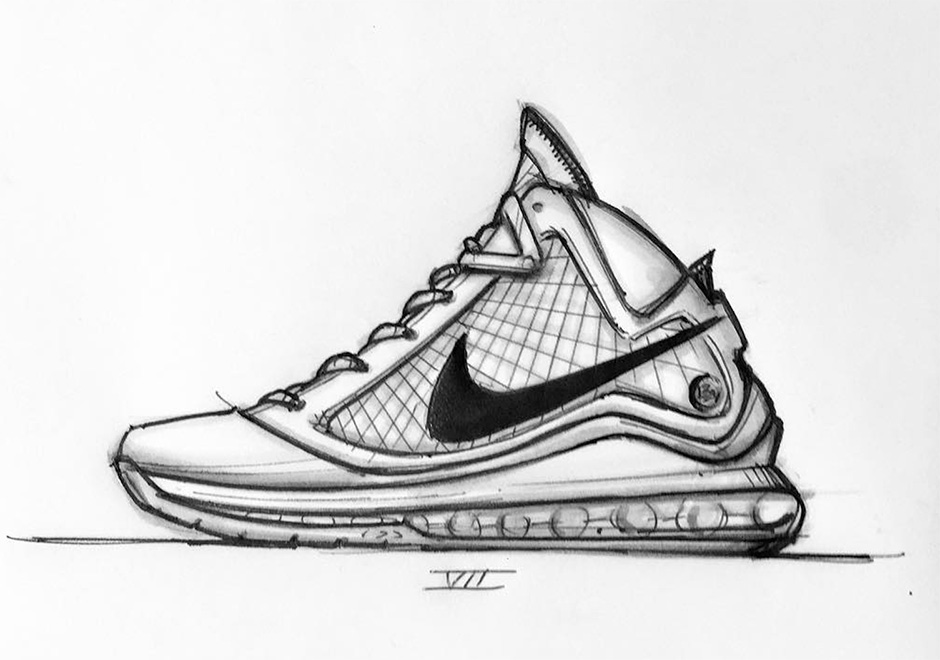 promo code 0751c b2a08 A Sketched History Of Jason Petries Nike LeBron Designs