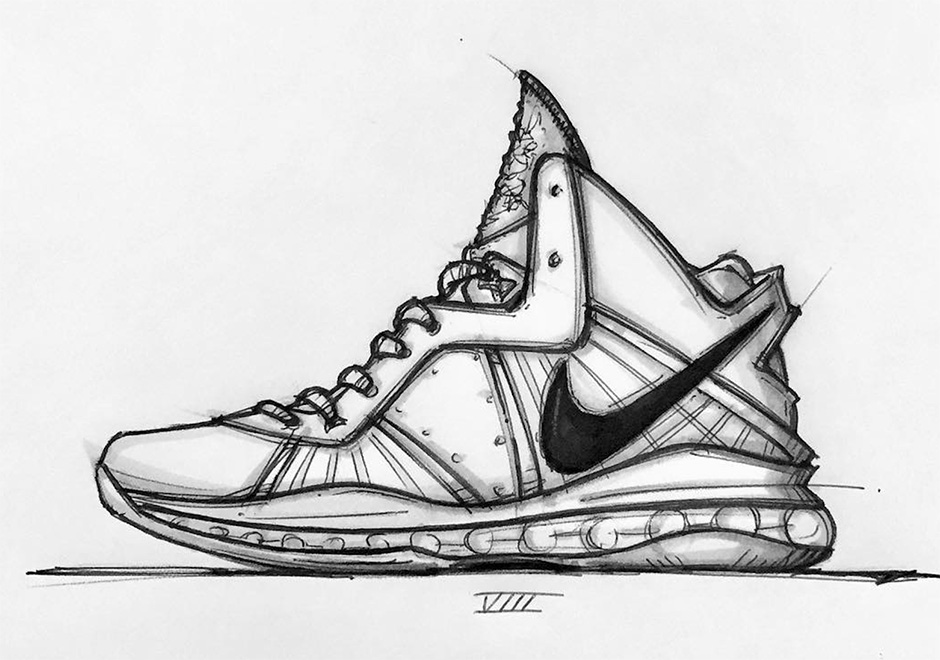 cheap for discount 99e1c 72b8a A Sketched History Of Jason Petrie s Nike LeBron Designs - SneakerNews.com