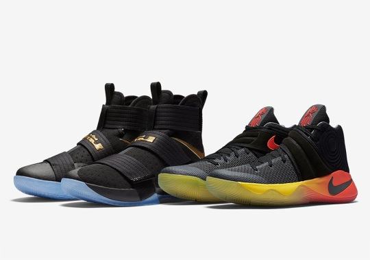 "Store List For The Nike LeBron/Kyrie Championship ""Four Wins"" Game 3 Pack"