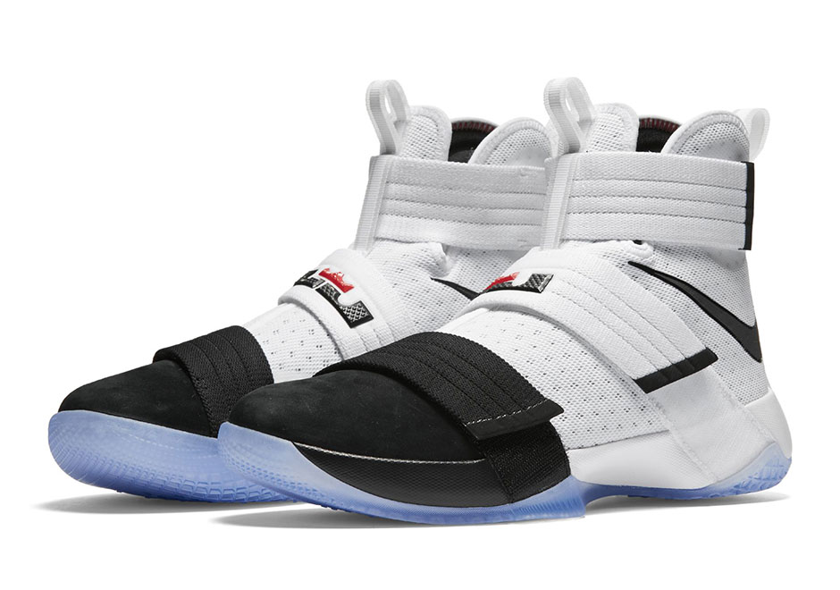 Lebron White And Black Shoes