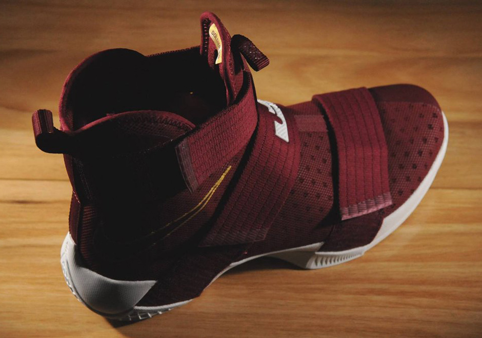 7f509194f5e ... spain nike lebron soldier 10 christ the king. color team red team red  metallic gold ...