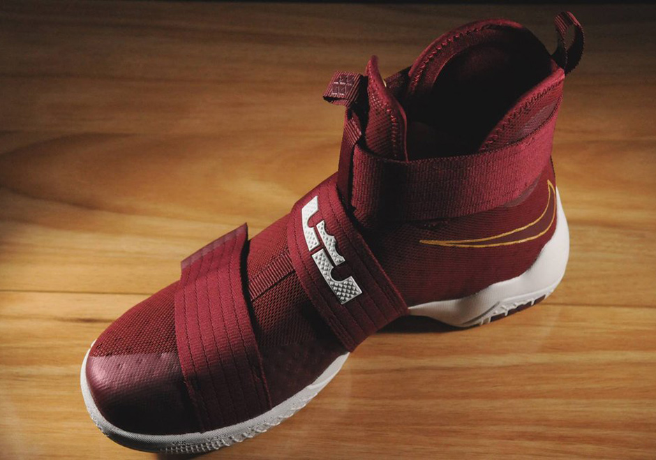check out d3159 ffe88 Nike LeBron Soldier 10 Christ The King PE   SneakerNews.com