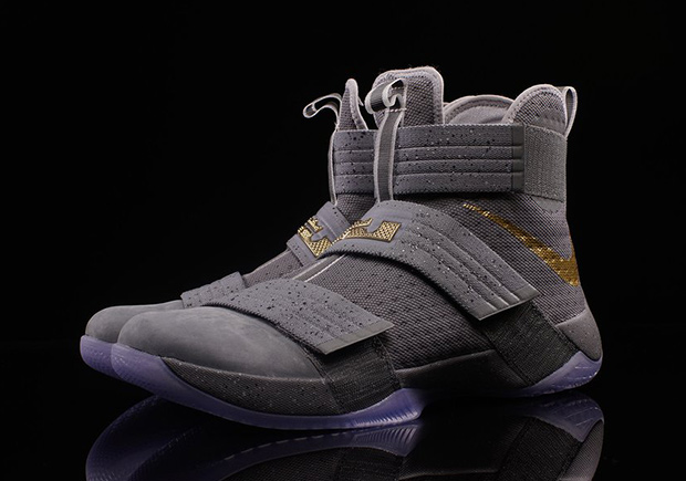 nike lebron soldier 10 grey purple