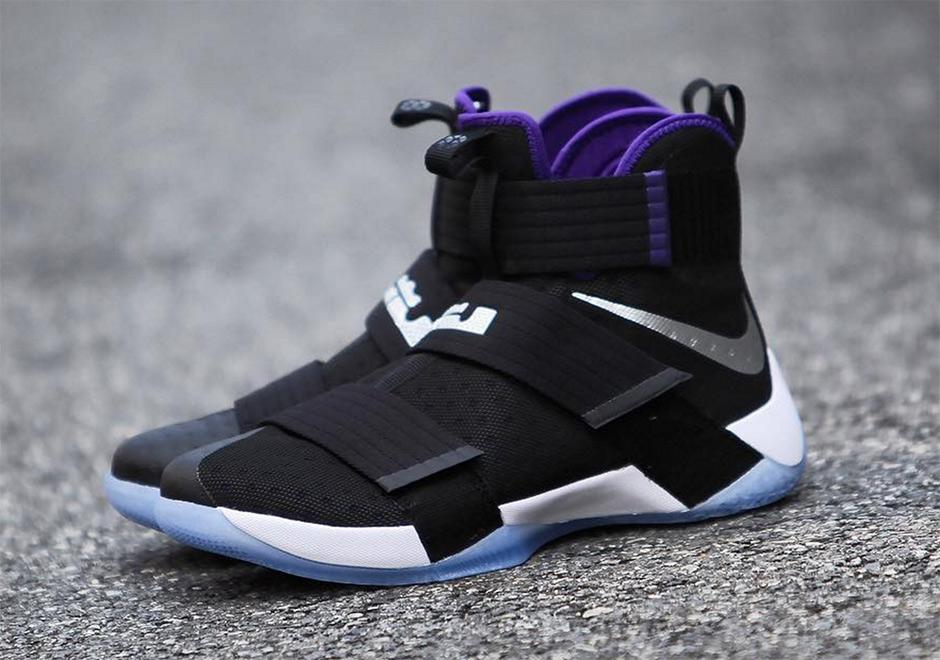 Nike LeBron Soldier 10 Sacramento Kings | SneakerNews.com