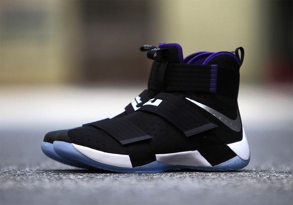 buy online 93ab8 571ca Nike LeBron Soldier 10 Sacramento Kings | SneakerNews.com
