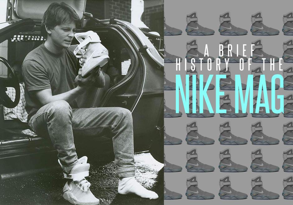 Nike Mag Power Lacing Shoe History | SneakerNews.com