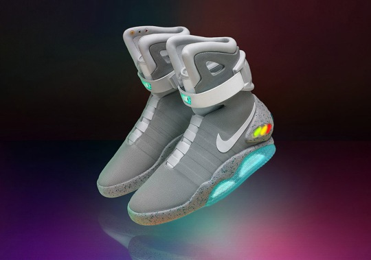 Today Is The Last Day To Enter The Nike Mag Raffle