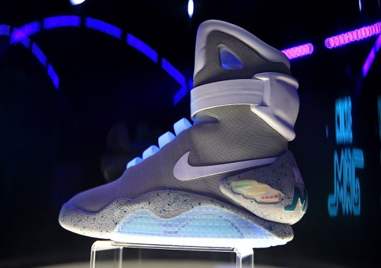 Self-Lacing Nike Mag Sells For Over $56,000 At London Auction