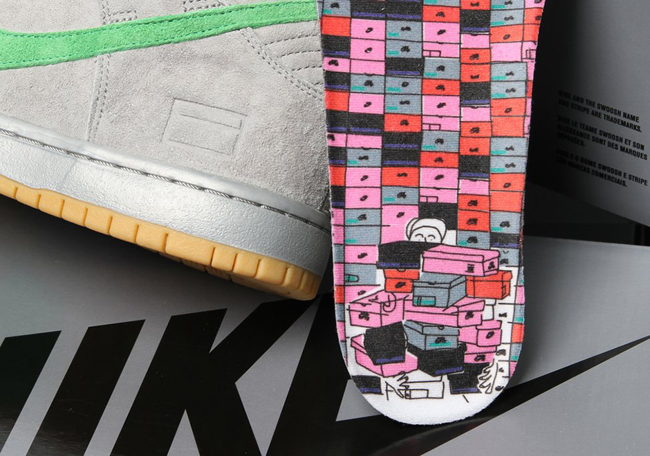 online store 0248c ffb8f Nike SB Dunk High Silver Box Release Date   SneakerNews.com