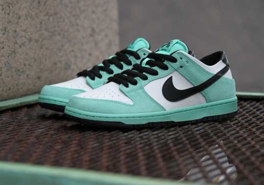 """Nike SB Dunk Low """"Sea Crystal"""" Is Available Now"""