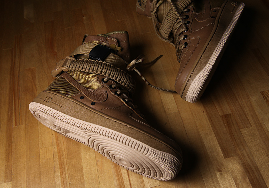 Nike Special Forces Air Force 1 Gum Light Brown 857872 200