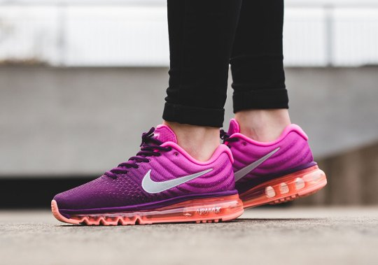 An On-Foot Look At The Nike Air Max 2017