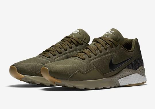 Ripstop Nylon In Olive Hits The Nike Zoom Pegasus '92