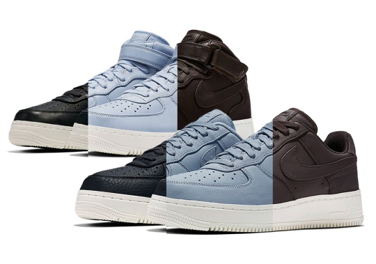 NikeLab Introduces Velvet Brown And Blue Grey To The Air Force 1 Fold