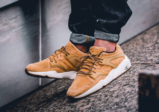 "The Puma Blaze Of Glory Releases In ""Wheat"""