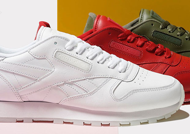 d7cc0754a1b9 The timeless Reebok Classic Leather always looks solid