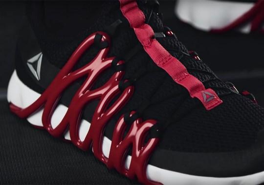 Reebok Creates A 3D-Drawn Sneaker Made Of Proprietary Liquid