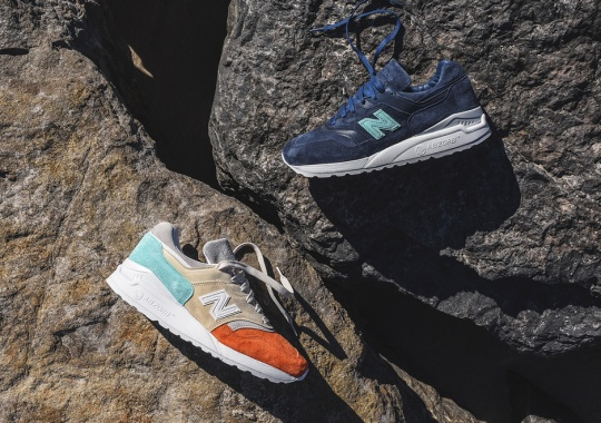 """Ronnie Fieg's New Balance 997.5 """"Mykonos"""" Collection Releases Friday"""