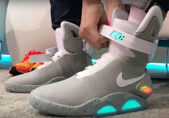 Testing Out The Self-Lacing Nike Mag