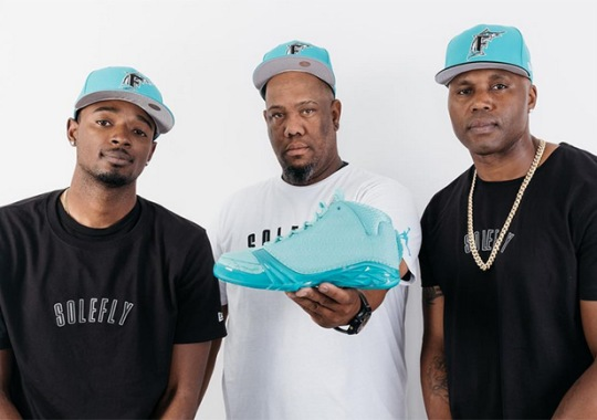 Florida Marlins Of Past And Present Unveil The SoleFly x Air Jordan XX3