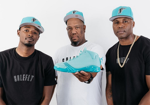d6acd3a46db46a Florida Marlins Of Past And Present Unveil The SoleFly x Air Jordan ...