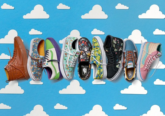 Toy Story Collaborates With Vans For Limited Edition Collection
