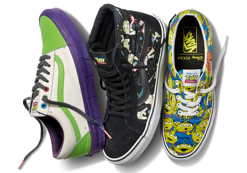 Toy Story Vans Collab Release Info Sneakernews Com