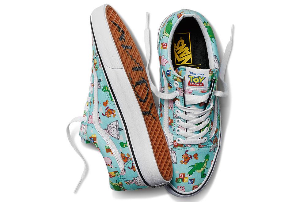 scarpe vans toy story