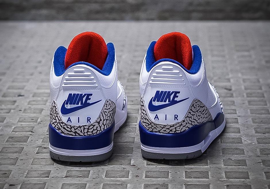 True Blue Jordan 3s
