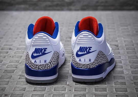"Air Jordan 3 ""True Blue"" Releasing In Full Family Sizes"