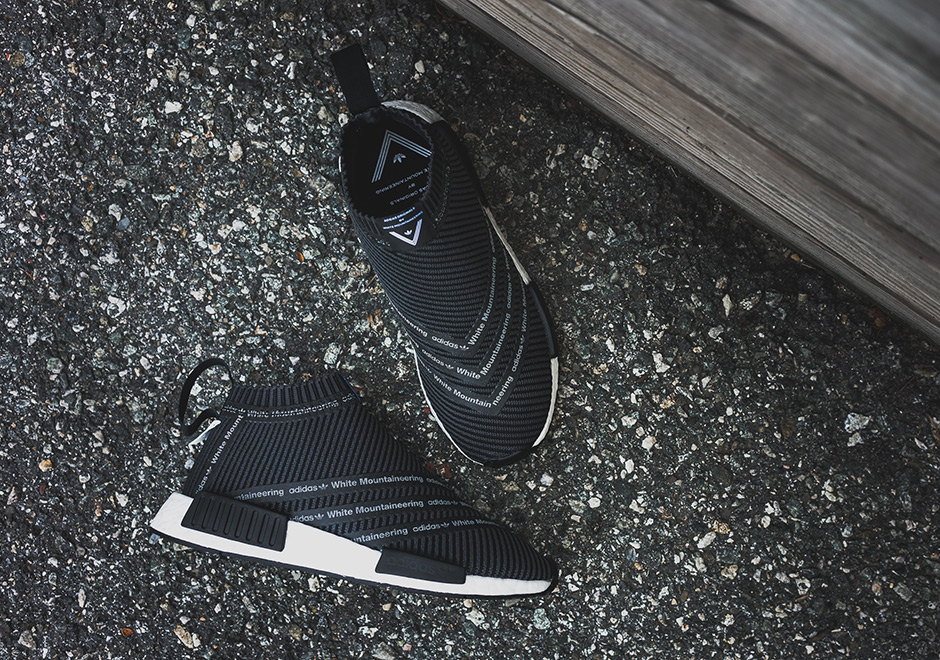 on sale dd05d 82988 adidas NMD City Sock x White Mountaineering | SneakerNews.com