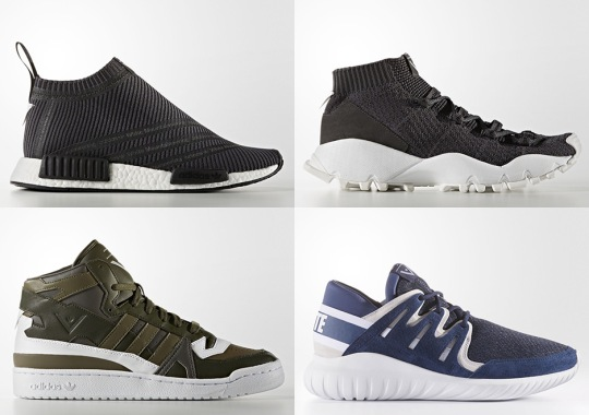 A Complete Look At The White Mountaineering x adidas Originals Footwear Collection