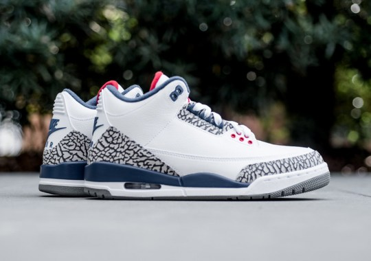 "The Air Jordan 3 ""True Blue"" Is Releasing Earlier Than Expected"