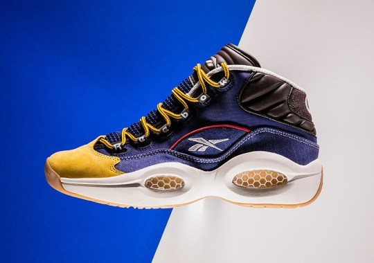 """The Reebok Question Mid """"Dress Code"""" Is Available Now"""