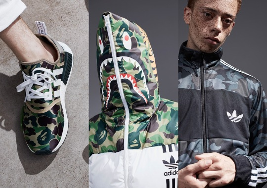 The Complete BAPE x adidas Originals Collection Releases On November 26th 57bc6b191