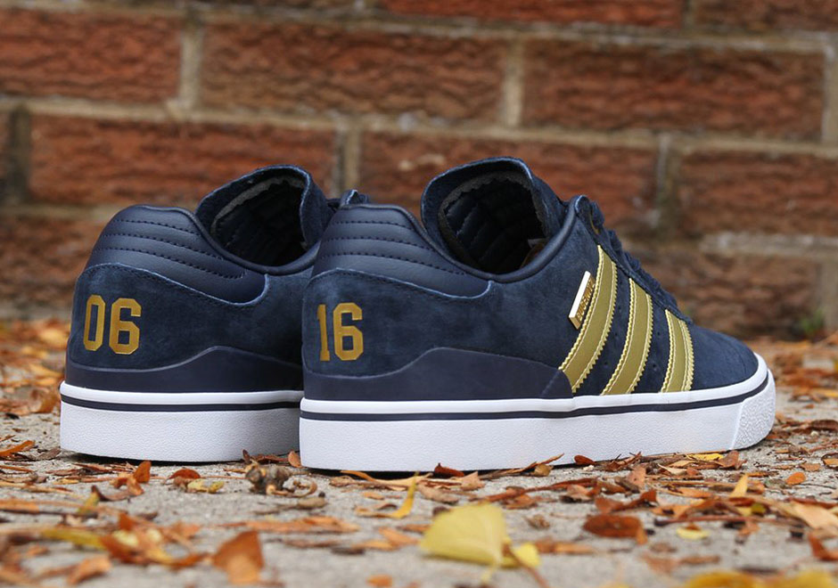 adidas has revamped the adidas Busenitz Vulc with a premium mid-top form 1bcd29466