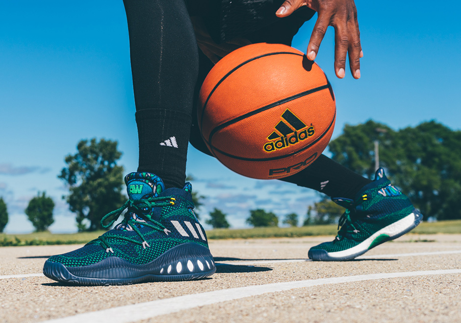 brand new 2ede9 c5538 ... Away Andrew Wiggins Gets The PE He Deserves With The adidas Crazy  Explosive ...