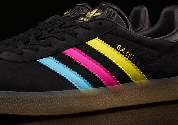 adidas women's gazelle dark yellow