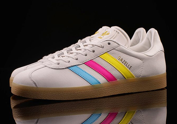 Adidas Gazelle Color Stripes Pack Sneakernews Com
